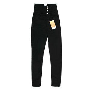 Zara High Waisted Black Trousers